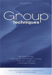 Cover of: Group techniques