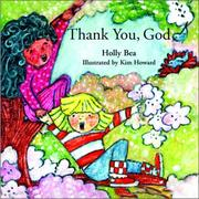 Cover of: Thank you, God
