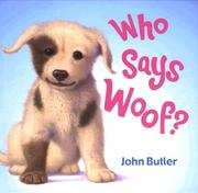Cover of: Who says woof?