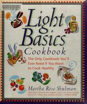 Cover of: Light basics cookbook