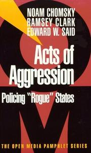 Cover of: Acts of aggression: Policing Rogue States (Open Media Series)