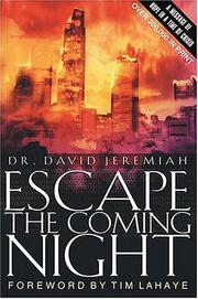 Cover of: Escape the coming night