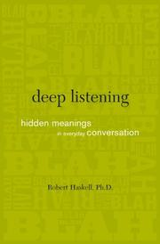 Cover of: Deep listening