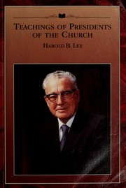 Cover of: Teachings of presidents of the church