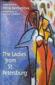 Cover of: The ladies from St. Petersburg: three novellas