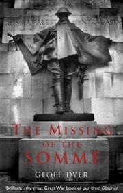 Cover of: The missing of the Somme