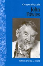 Cover of: Conversations with John Fowles