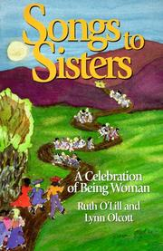 Cover of: Songs to sisters