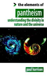 Cover of: Elements of Pantheism