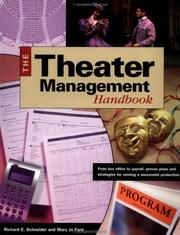 Cover of: The theater management handbook