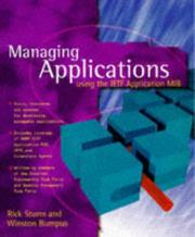 Cover of: Foundations of application management