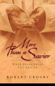 Cover of: More than a savior