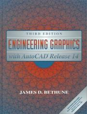 Cover of: Engineering graphics with AutoCAD release 14