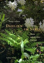 Cover of: Dahlien im Sand