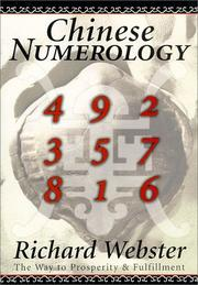 Cover of: Chinese numerology: the way to prosperity & fulfillment