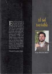 Cover of: El sol invisible
