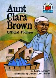 Cover of: Aunt Clara Brown
