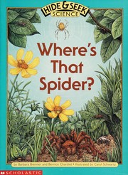 Cover of: Where's that spider?