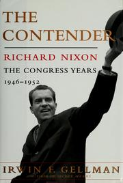 Cover of: The contender, Richard Nixon