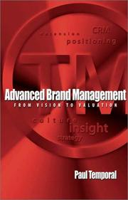 Cover of: Advanced brand management