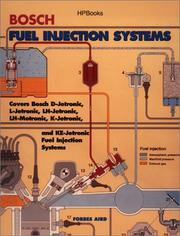 Cover of: Bosch fuel injection systems