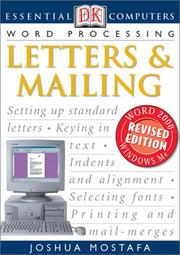 Cover of: Letters & mailing