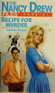 Cover of: Recipe for murder