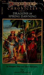 Cover of: Dragons of spring dawning