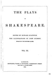 Cover of: The plays of Shakespeare