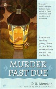 Cover of: Murder past due
