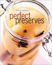 Cover of: Perfect preserves