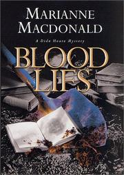 Cover of: Blood lies