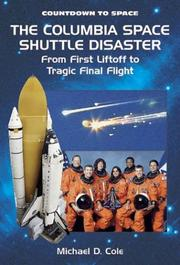 Cover of: The Columbia space shuttle disaster