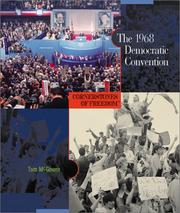 Cover of: The 1968 Democratic Convention