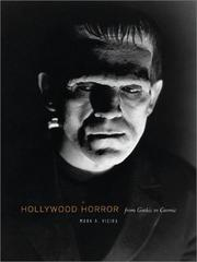 Cover of: Hollywood horror
