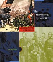 Cover of: The surrender at Appomattox