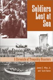 Cover of: Soldiers lost at sea