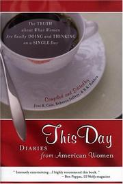 Cover of: This day