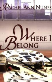 Cover of: Where I belong