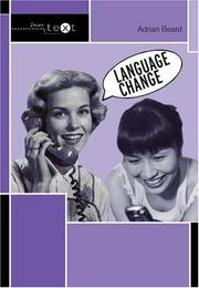 Cover of: Language change