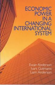Cover of: Economic power in a changing international system