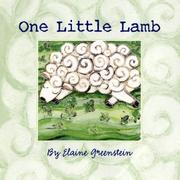 Cover of: One little lamb