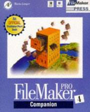 Cover of: FileMaker Pro 4 companion