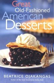 Cover of: Great old-fashioned American desserts