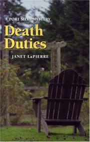 Cover of: Death duties