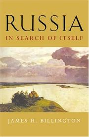 Cover of: Russia in search of itself
