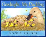 Cover of: Goodnight, my duckling