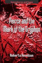 Cover of: Peirce and the mark of the gryphon