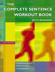 Cover of: The complete sentence workout book with readings