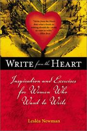 Cover of: Write from the heart